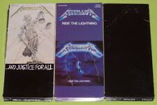 Metallica LONG BOX 1991 Elektra COMPLETE with cd