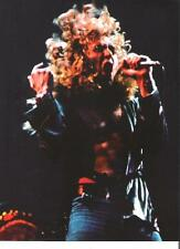 LED ZEPPELIN Robert a mass of hair magazine PHOTO / mini Poster 11x8""