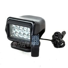 CREE 50W Led Rotating Remote Search Light Marine Spot Beam Boat SUV Offroad -HID
