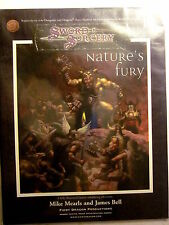 WW #16000 Sword & Sorcery D20 NATURE'S FURY (New/NM, 9.4 or better/2001)