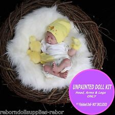 """Baby Kit to make a reborn doll ~ reborn doll kit~ Super Cute make your own 19"""""""