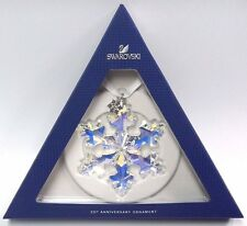ANNUAL 25TH ANNIVERSARY ORNAMENT LIMITED XMAS 2016 large SWAROVSKI  5258537