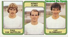 409 VAN NUFFELEN CLAES BLOMMAERT RAC.MECHELEN STICKER FOOTBALL 1983 PANINI