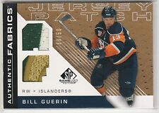 2007-08 SP Game Used Authentic Fabrics Patches #AFBG Bill Guerin 39/50