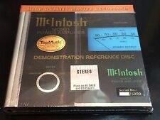 McIntosh MC501 Demonstration Reference Disc SACD First Limited Numbered Edition