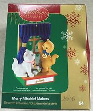 Carlton Cards Christmas Ornament Merry Mischief Makers #54 11th in series 2006