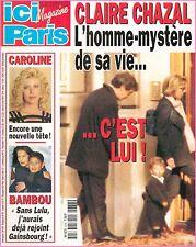 ▬►ICI PARIS 2678 CAROLINE MONACO_MONTY_DEMI MOORE_JEAN JACQUES DEBOUT_B.SHIELDS
