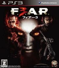 Used PS3  F.3.A.R.  SONY PLAYSTATION 3 JAPAN JAPANESE IMPORT