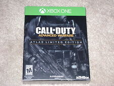 CALL OF DUTY ADVANCED WARFARE ATLAS LIMITED EDITION..XBOX ONE..**SEALED**NEW**!!