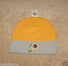 Washington Redskins NFL Football Uncuffed Beanie Style Winter Knit Hat  New