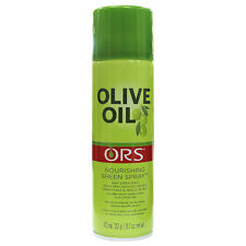 Organic Root Stimulator ORS Olive Oil Nourishing Sheen Spray Shine Hair 11.7oz
