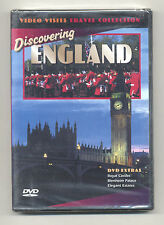Discovering England DVD NEW/SEALED Video Visits Travel Collection Royal Castles