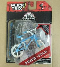 FLICK TRIX FINGER BIKE LIGHT BLUE BMX HUTCH BIKES TRICK STAR FINGER BIKE