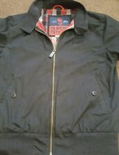 mens superdry longhorn harrington jacket black