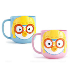Pororo 3D face handle cup (Pink) / Pororo cup (standard & sweety)