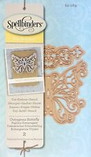 SPELLBINDERS D-LITES cutting dies OUTRAGEOUS BUTTERFLY - CUTTLEBUG COMPATIBLE