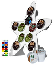Lot of 12 Starfish White Counter Top 10K Cup Dispenser Coffee Keurig Pod Holder