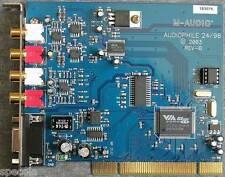 M-AUDIO AUDIOPHILE 24/96 2000 REV-A2 CARD ONLY