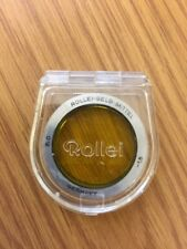 Rare Rollei 35 Bay 0 (R0) Medium Yellow Filter Lens Gelb Mittel BNIB 1,5 1.5 B+W