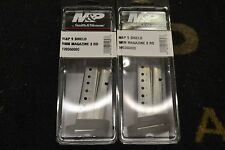 PAIR of Factory New Smith & Wesson M&P Shield 9mm 8rd Magazines