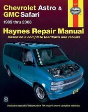 Chevrolet Astro & GMC Safari: 1985 thru 2003 - Based on a complete tea-ExLibrary