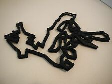 K'nex K'Nex Screamin Serpent Roller Coaster 10ft long Black Chain Links Piece