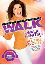 Leslie Sansone: Walk to the Hits All Time Favorites New DVD! Ships Fast! Free Sh