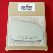 NEW Mirror Glass + ADHESIVE VOLVO S80 S60 Passenger Right Side **FAST SHIPPING**