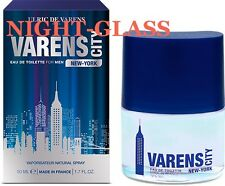 "EAU DE TOILETTE FOR MEN-ULRIC DE VARENS ""VARENS CITY NEW-YORK"" MADE FRANCE-50 ML"