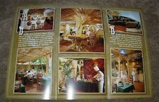 "Russia, Moscow ""White Sun of the Desert"" Restaurant Vintage Brochure, New - Rare"