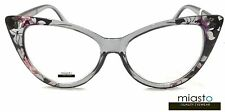 NWT$39.99 MIASTO WOMENS VINTAGE BIG CAT EYE LARGE READER READING GLASSES+1.75