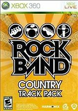 Rock Band Country Track Pack GAME Microsoft Xbox 360 RB