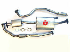 FORD MAVERICK 2.7TD LWB 1993 to 1999 NEW COMPLETE EXHAUST SYSTEM INC GASKETS