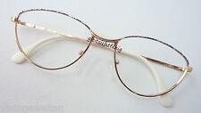 Metallbrille occhiali Damengestell Rahmen Klassikstyle GR:M 56-18 Brillen Club