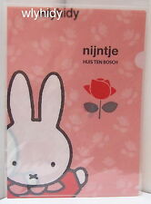 Miffy Nijntje Plastic A4 Folder, 1pc Made In Japan Limited   h#9