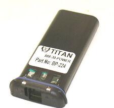 BP-224 Battery Pack For ICOM Handheld Marine Radio IC-M2 IC-GM1600 IC-M32 IC-M31