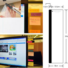 New Creative Office Computer Post It Board Holder Memo paper Sticky 30cm