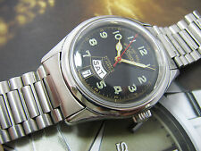 WEST END WATCH SOWAR MILITARY AUTOMATIC ETA MOVEMENT BLACK DIAL 2.