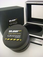 Genuine Original GRAHAM London - BRAWN GP watch box BRAND NEW