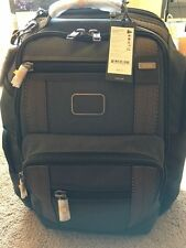 TUMI ALPHA BRAVO KINGSVILLE DELUXE BRIEF PACK 22238AT2 ATHRACITE NEW