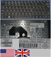 Clavier Qwerty US Int HP CQ10 Mini 110 Netbook 110-3000 110-3099 608769-001 Noir