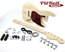Pit Bull Guitars JB-5MF Electric Bass Guitar Kit – 5 String Fretless