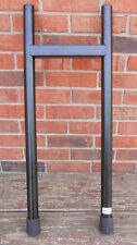 Roland Black Steel Stand Tube Rack Expansion Leg Assembly with End Caps and Feet