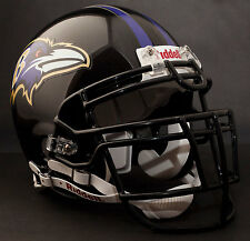 RAY LEWIS Edition BALTIMORE RAVENS Riddell AUTHENTIC Football Helmet NFL