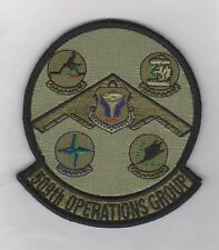 """USAF Patch 509th OPERATIONS GROUP (""""TACTICAL"""" Patch - Subdued)"""