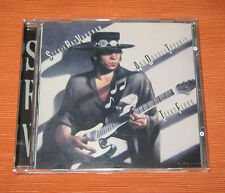 "Stevie Ray Vaughan CD "" AND BOUBLE TROUBLE TEXAS FLOOD "" Epic"