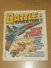 BATTLE WITH STORM FORCE 25TH APRIL 1987 BRITISH WEEKLY IPC MAGAZINE
