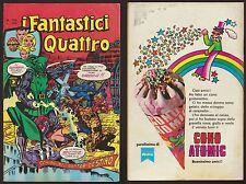I FANTASTICI QUATTRO 166 SCHIAVI DEL DOTTOR DESTINO - CORNO 16/8/1977