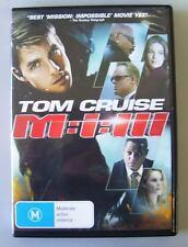 Mission Impossible III 3 MI-3 - Region 4 DVD MINT *