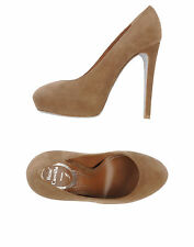 Rene Caovilla Beige Pump Shoes Size : IT40/US10